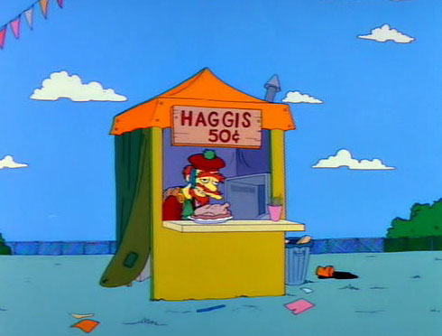 Don't worry, I'm sure there's some sort of post Apocalyptic future looming that will force Americans to enjoy haggis.